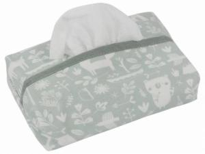 Little Dutch - babydoekjes hoes Adventure mint