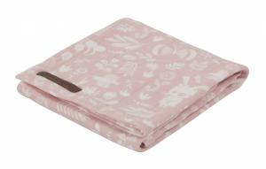 Little Dutch - swaddle doek 120 x 120 cm Adventure pink