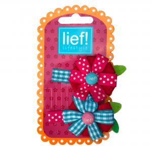 Lief! lifestyle haarspeldje 2 stuks bloem