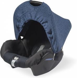 Jollein zonnekapje 0 tot 9 maanden stoel Stonewashed knit navy