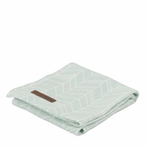Little Dutch - swaddledoek mint leaves120x120