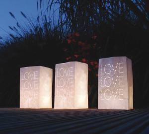 Lichtzakjes - Bruiloft Love