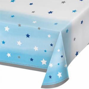 Tafelkleed Twinkel Twinkel star blauw