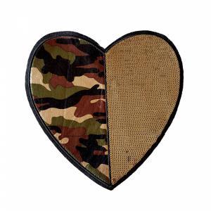 Applicatie XL - Hart legerkleur
