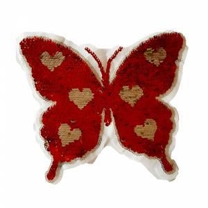 Applicatie - vlinder rood omkeerbaar