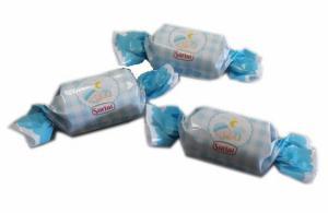 Themasnoep - Chocolade praline blauw per stuk