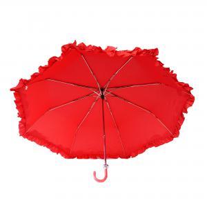 Dames paraplu opvouwbaar - rood