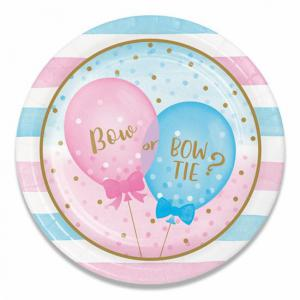 Gender Reveal Bordjes 23cm