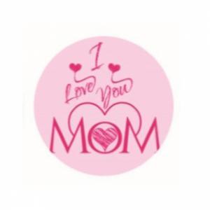 Suikerschildje I love you MOM