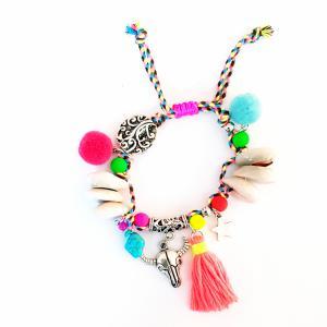Ibiza armband met schelpjes