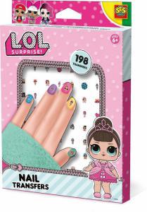 SES L.O.L Suprice nagel stickers