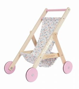 Little Dutch - houten poppenbuggy