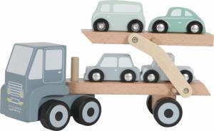Little Dutch - Houten truck met oplegger