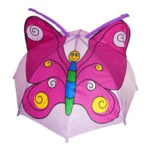 3D kinderparaplu - vlinder