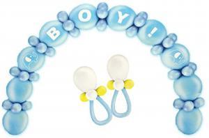 Ballonnenboog kit blauw