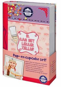 Feest in de keuken Ik kan het lekker zelluf Pop- en cupcake set