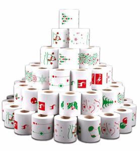 Kerst Toiletpapier prijs is per rol