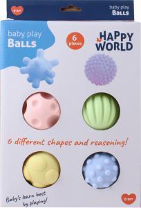Happy world speelgoed ballen voor baby's