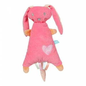 Lief! Lifestyle Knuffelkonijn roze  24cm