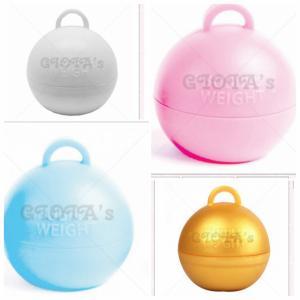 Ballongewicht Bubble 35 gram - goud (in diverse kleuren beschikbaar) prijs is per stuk