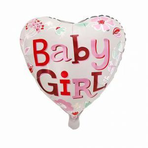 Folie ballon hart Baby girl