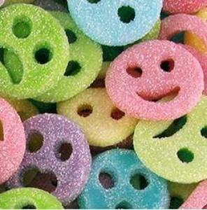 Themasnoep - Suiker emocions snoepjes 100gram