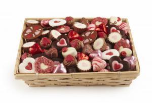 Chocolade liefde mix per 100 gram