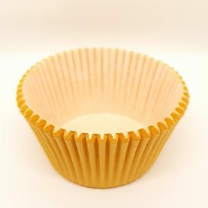 Cupcake vorm  Ø 12 cm ORANJE 100 stuks