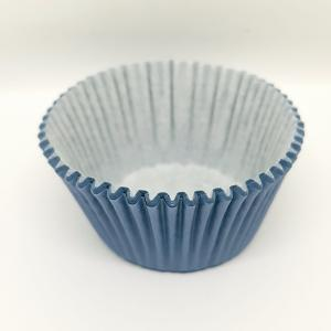 Cupcake vorm  Ø 12 cm BLAUW 100 stuks