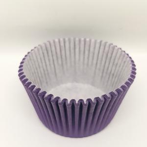 Cupcake vorm  Ø 12 cm PAARS 100 stuks