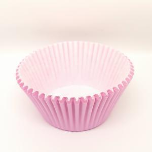 Cupcake vorm  Ø 8 cm ROZE 200 stuks