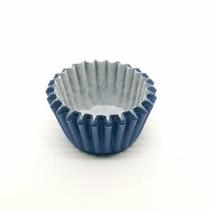 Cupcake vorm  Ø 6 cm LAVENDEL BLAUW 200 stuks
