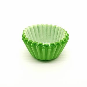 Cupcake vorm  Ø 6 cm GROEN 200 stuks