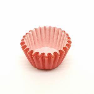 Cupcake vorm  Ø 6 cm ROOD 200 stuks