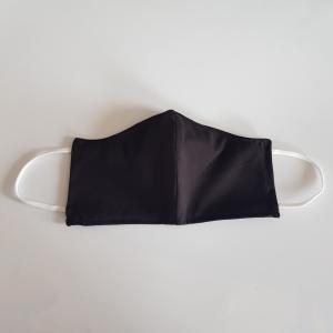 Mondkapje volwassen - Heren - zwart Model 2