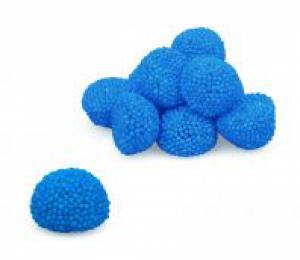 Themasnoep - Jelly snoepjes blauw prijs is per 100gram