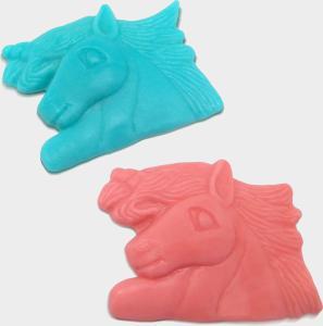 Unicorn snoep roze en blauw 9 cm - per stuk