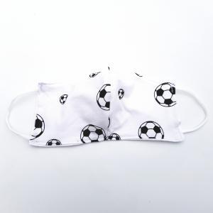 Mondbescherming HEREN - Voetbal zwart/wit