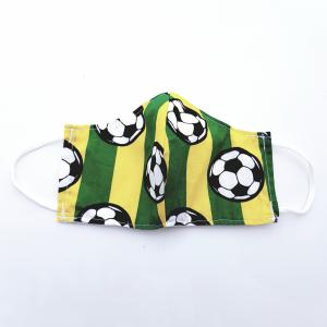 Mondbescherming HEREN - Voetbal geel/groen