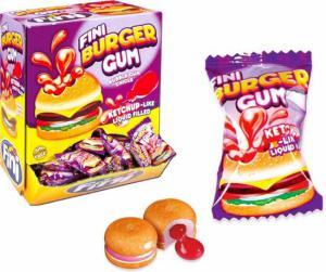 Themasnoep - kauwgom in de vorm van een hamburger prijs per stuk