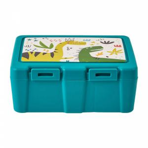 Lunchbox groen met Dino's