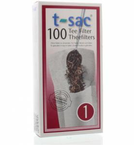 T-sac theefilter nr 1 - 100 stuks