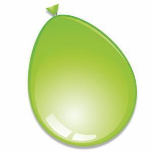 Ballon  Ø Limegroen 30cm 10-stuks