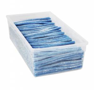Themasnoep - dynamietstaafjes kleur blauw prijs per stuk