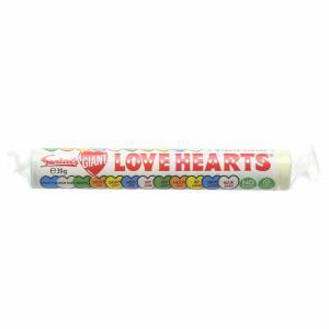 Themasnoep - love hearts rol prijs per stuk 39 gr