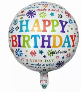 Folie ballon happy Birthday its your day 45cm