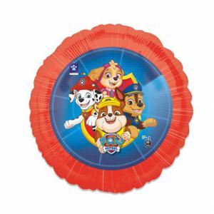 Folie ballon Paw patrol rond 43 cm