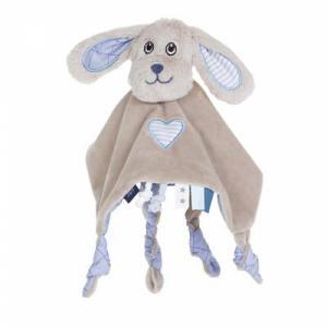 Jipy knuffeldoek hond blauw