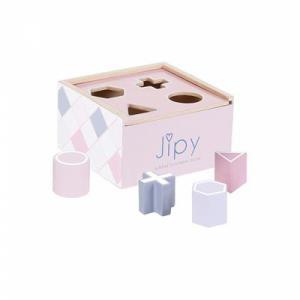 Jipy vormenstoof hout roze