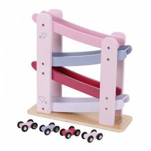 Jipy houten autobaan roze